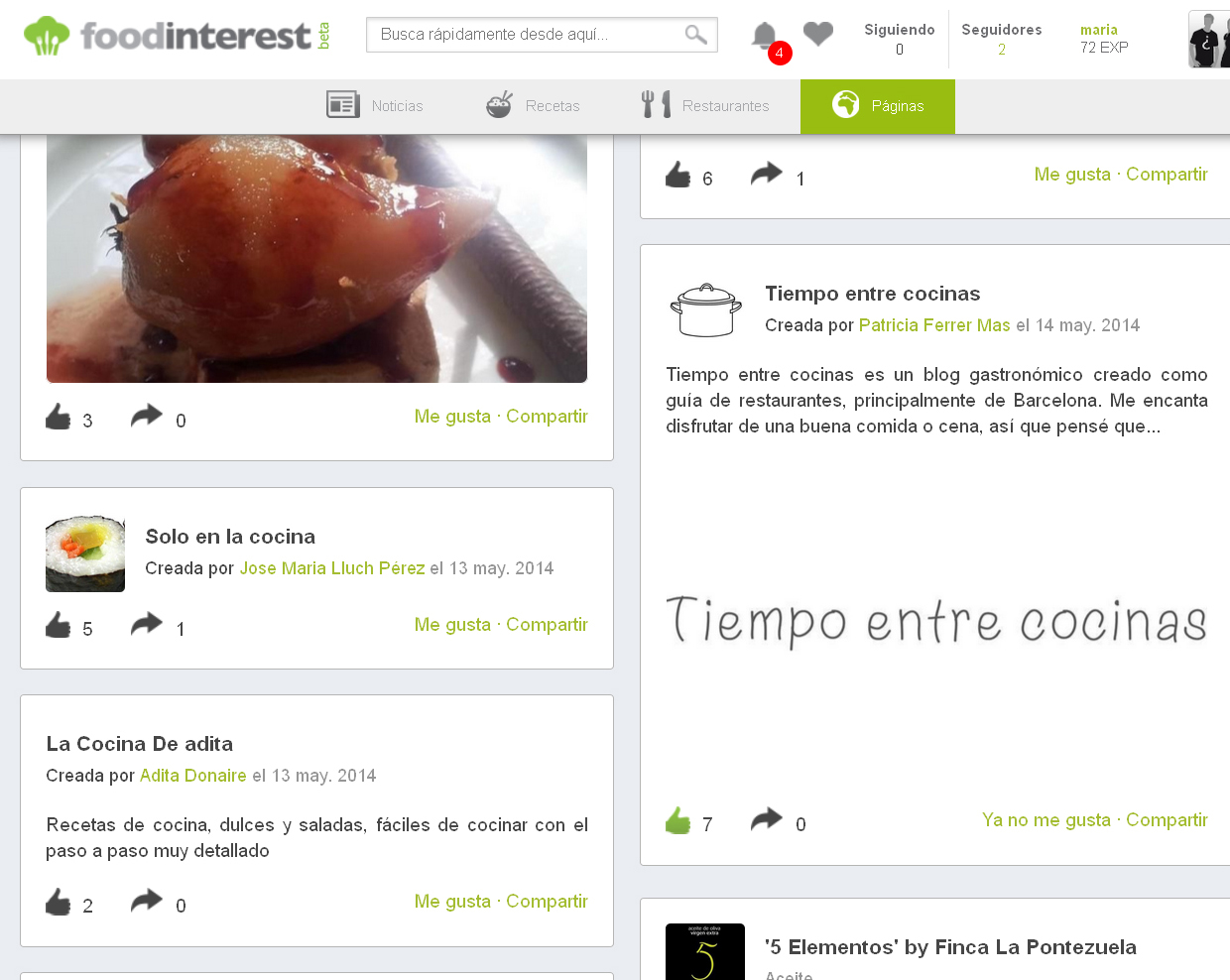 Llega la primera red social para cocinillas foodineterest for Cocinar a 90 grados