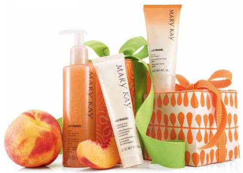 marykay_Set_Manos_seda-Satin_Melocoton