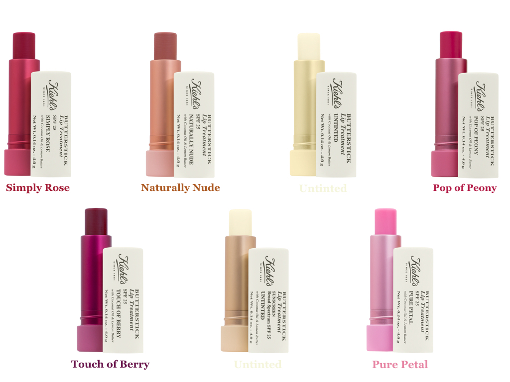 Kielhs-Butterstick-Lip-Treatment-Colors